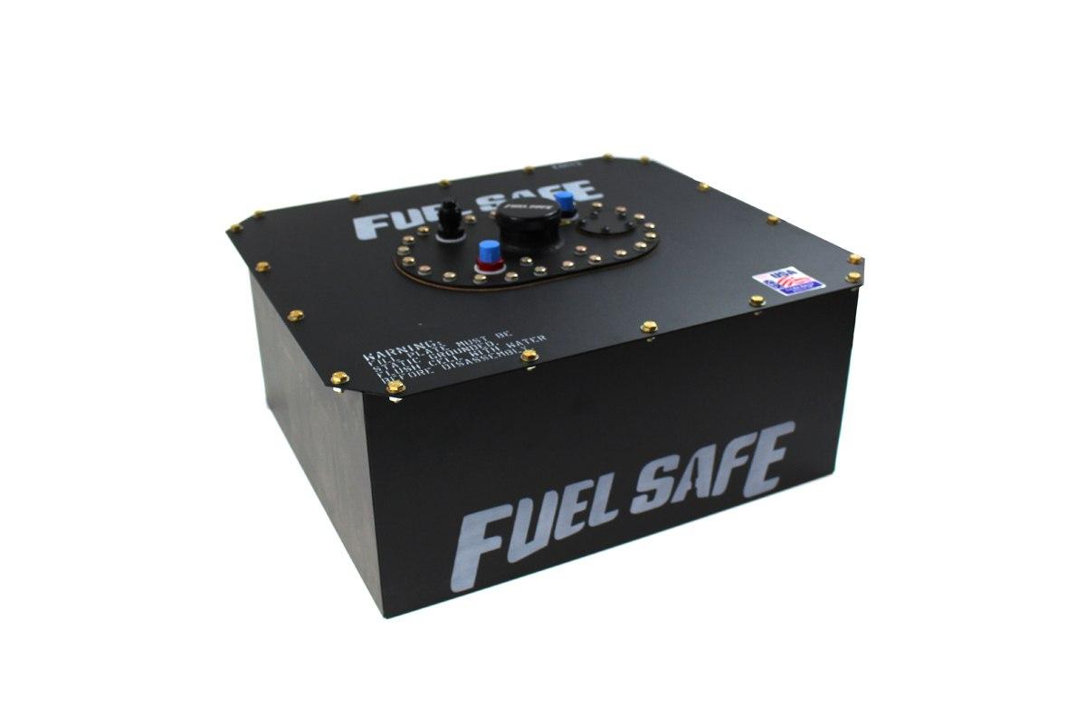 FuelSafe Zbiornik Paliwa 45L FIA z obudową stalową - GRUBYGARAGE - Sklep Tuningowy
